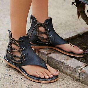 Free People Genuine Leather Sandals
